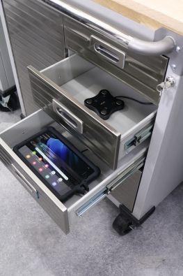 tabdrop tiroir charge