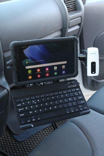 tabdrop voiture scanner