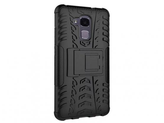 Pro-Impact - Coque Antichoc Guard Clip Honor 5C - Noir Vue 1