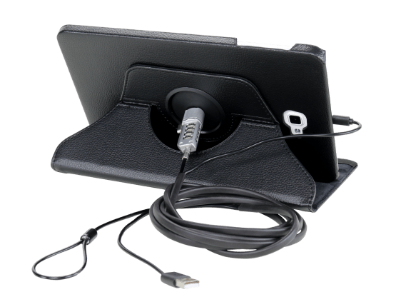 Rotate Cover 360 avec câble de sécurité