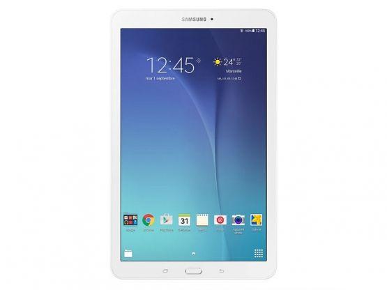 Samsung - Galaxy Tab E 9.6 SM-T560 - 8Go - Blanche Vue 1