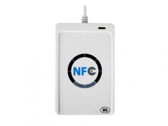 Tablette Store - Lecteur NFC ACR122U - Blanc Vue 1