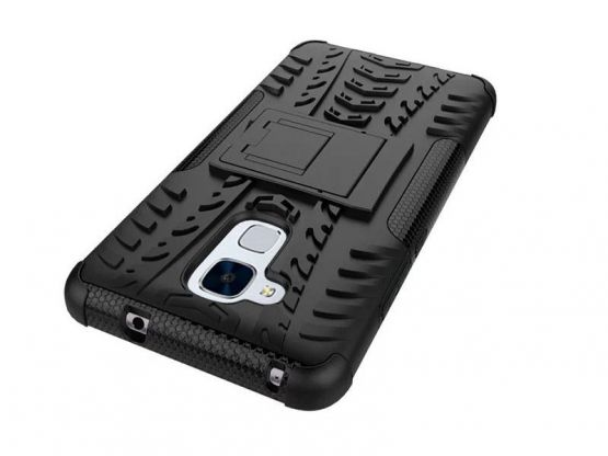 Pro-Impact - Coque Antichoc Guard Clip Honor 5C - Noir Vue 2