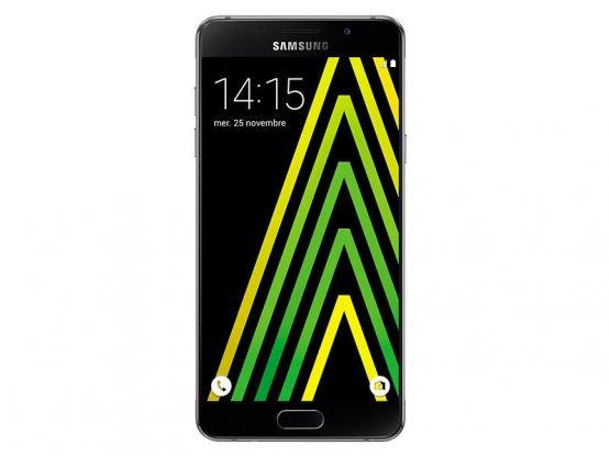 Samsung - Galaxy A5 2016 SM-A510 - 16 Go 4G - Noir Vue 1