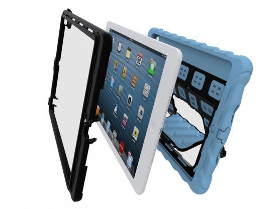 GumDrop - Coque Stand Antichoc Hideaway iPad Air - Noir Vue