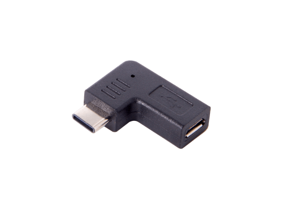 TabConnect - Adaptateur Coudé Type-C vers micro USB