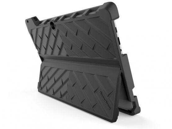 GumDrop - Coque Stand Antichoc DropTech Lenovo Miix 510 - Noir