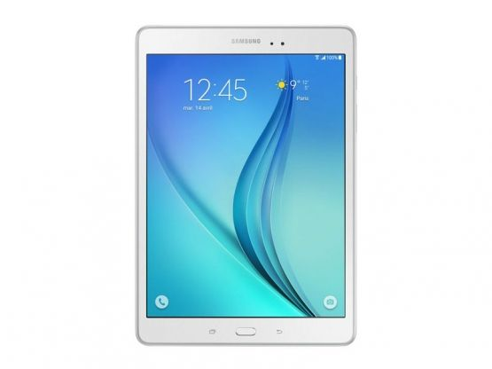 Samsung - Galaxy Tab A 9.7 SM-T55 - 16Go - Blanche Vue 1