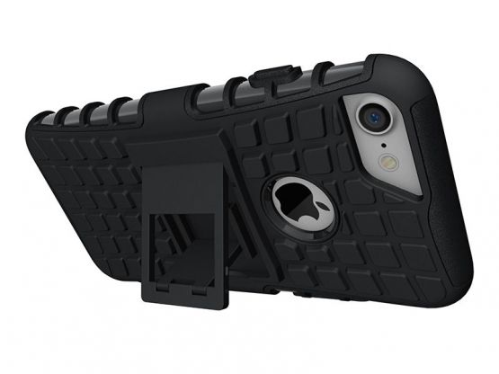 Pro-Impact - Coque Antichoc Guard Clip iPhone 7 - Noir Vue 4