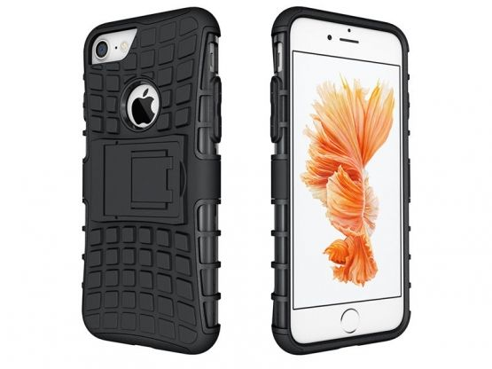 Pro-Impact - Coque Antichoc Guard Clip iPhone 7 - Noir Vue 1