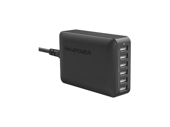 TabConnect - Chargeur 6 Ports RAVPower