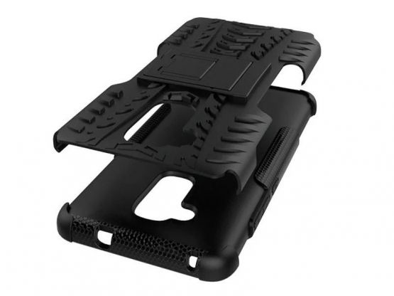 Pro-Impact - Coque Antichoc Guard Clip Honor 5C - Noir Vue 4