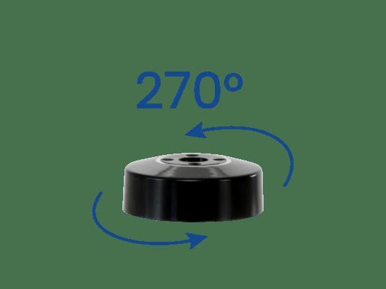 TabStore - Manchon Rotate Noir