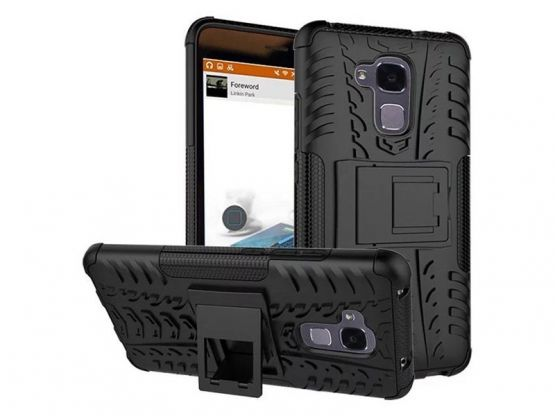 Pro-Impact - Coque Antichoc Guard Clip Honor 5C - Noir Vue 3