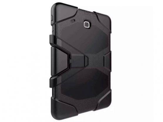 Tablette Store - Coque Antichoc Pro-Impact Stand Galaxy Tab E