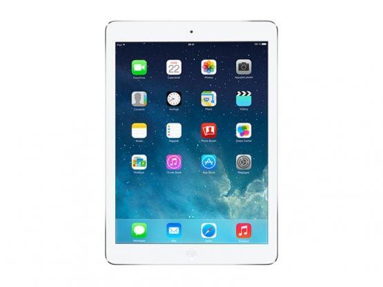 Apple - iPad Air - 16Go - Argent Vue Face