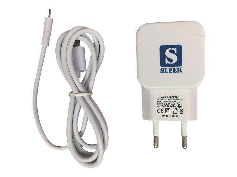 TabConnect - Chargeur Adaptateur 2A Micro USB avec cordon -