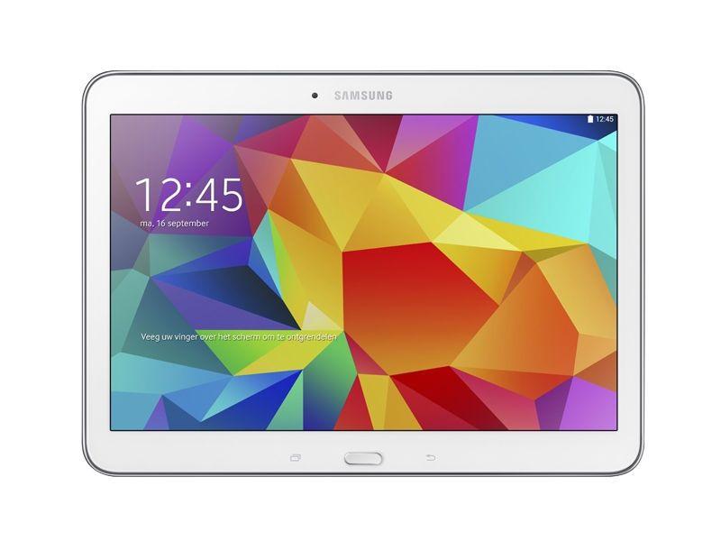 Samsung - Galaxy Tab 4 10.1 - 16Go - Blanche Vue 1