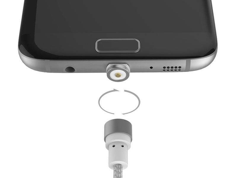 TabConnect - Cable Magnet Charge 360 - Connecteurs micro USB &