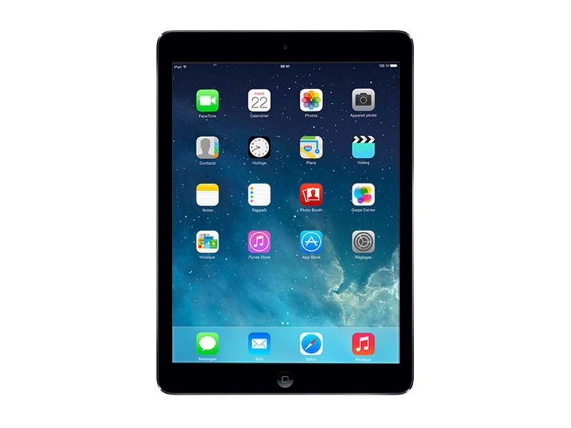 Apple - iPad Air - 16Go - Gris Sidéral Vue Face