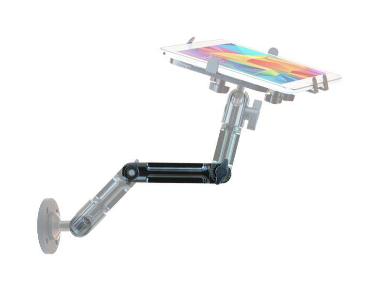 Onyxmount - Rallonge Bras Alu Multi-Position & Articulé 18 cm