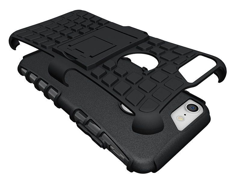 Pro-Impact - Coque Antichoc Guard Clip iPhone 7 - Noir Vue 2