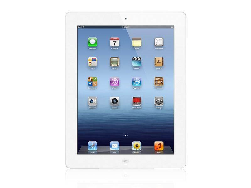 Apple - Nouvel iPad - Blanc Vue Face