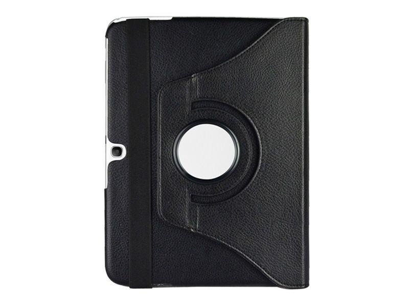 Tablette Store - Étui Rotatif Galaxy Tab 3 10.1 - Noir Vue Dos